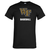 Black T Shirt-WF Baseball