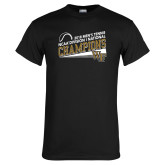 Black T Shirt-2018 Mens Tennis Champions