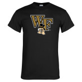 Black T Shirt-WF w/ Deacon Head