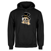 Black Fleece Hoodie-Deacon Head