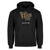 Black Fleece Hood-Alumni