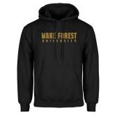 Black Fleece Hoodie-Wake Forest University
