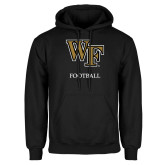 Black Fleece Hoodie-Football