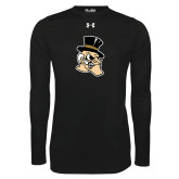 Under Armour Black Long Sleeve Tech Tee-Deacon Head