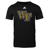 Adidas Black Logo T Shirt-WF