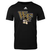 Adidas Black Logo T Shirt-WF w/ Deacon Head