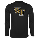 Syntrel Performance Black Longsleeve Shirt-WF