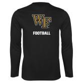 Syntrel Performance Black Longsleeve Shirt-WF Football