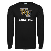 Black Long Sleeve TShirt-WF Basketball