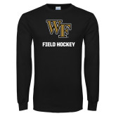 Black Long Sleeve TShirt-WF Field Hockey