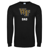 Black Long Sleeve TShirt-WF Dad