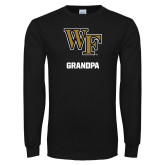 Black Long Sleeve TShirt-WF Grandpa