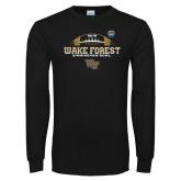 Black Long Sleeve T Shirt-Birmingham Bowl Offical Logo