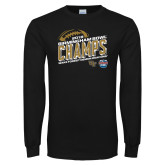 Black Long Sleeve T Shirt-2018 Birmingham Bowl Champs