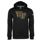 Under Armour Black Performance Sweats Team Hoodie-WF
