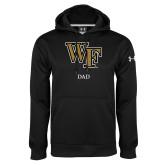 Under Armour Black Performance Sweats Team Hoodie-Dad