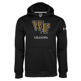 Under Armour Black Performance Sweats Team Hoodie-Grandpa