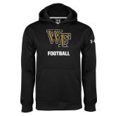 Under Armour Black Performance Sweats Team Hoodie-WF Football
