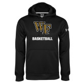 Under Armour Black Performance Sweats Team Hoodie-WF Basketball