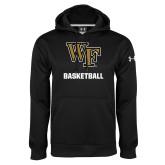 Under Armour Black Performance Sweats Team Hoodie-WF Basketball
