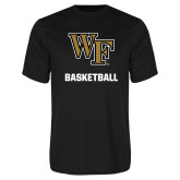 Performance Black Tee-WF Basketball