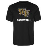 Syntrel Performance Black Tee-WF Basketball