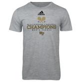 Adidas Sport Grey Logo T Shirt-WF