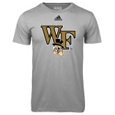 Adidas Climalite Sport Grey Ultimate Performance Tee-WF w/ Deacon Head