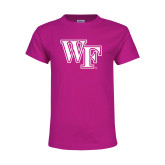 Youth Fuchsia T Shirt-WF