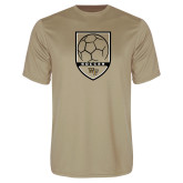 Performance Vegas Gold Tee-Soccer Shield Design