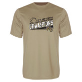 Performance Vegas Gold Tee-2018 Mens Tennis Champions