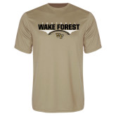 Performance Vegas Gold Tee-Football Wing Design