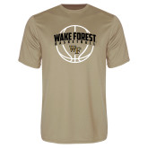 Performance Vegas Gold Tee-Arched Wake Forest in Basketball