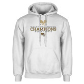 White Fleece Hoodie-2018 Mens Tennis Champions