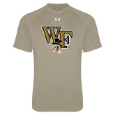 Under Armour Vegas Gold Tech Tee-WF w/ Deacon Head