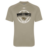 Under Armour Vegas Gold Tech Tee-Arched Wake Forest in Basketball