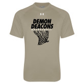 Under Armour Vegas Gold Tech Tee-Basketball Net Design