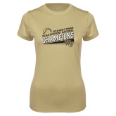 Ladies Syntrel Performance Vegas Gold Tee-2018 Mens Tennis Champions