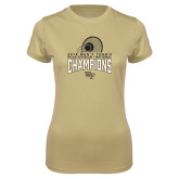 Ladies Syntrel Performance Vegas Gold Tee-2018 Mens Tennis Champions
