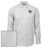Red House White Diamond Dobby Long Sleeve Shirt-WF w/ Deacon Head
