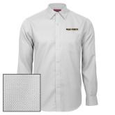 Red House White Diamond Dobby Long Sleeve Shirt-Wake Forest