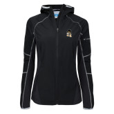 Columbia Ladies Sweet As Softshell Black Jacket-Deacon Head