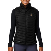 Columbia Mighty LITE Ladies Black Vest-Deacon Head