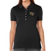 Ladies Callaway Opti Vent Black Polo-WF
