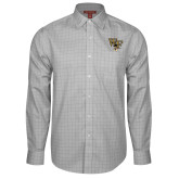Red House Grey Plaid Long Sleeve Shirt-WF w/ Deacon Head
