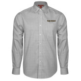 Red House Grey Plaid Long Sleeve Shirt-Wake Forest