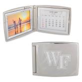 Silver Bifold Frame w/Calendar-WF Engraved