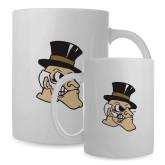 Full Color White Mug 15oz-Deacon Head
