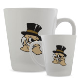 Full Color Latte Mug 12oz-Deacon Head