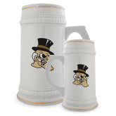 Full Color Decorative Ceramic Mug 22oz-Deacon Head